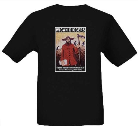 Wigan Diggers' Mosaic Design T-Shirt