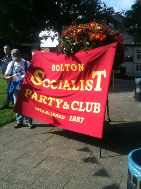 Bolton Socialist Party & Club Banner