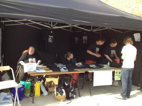 Wigan Diggers' Festival Tent