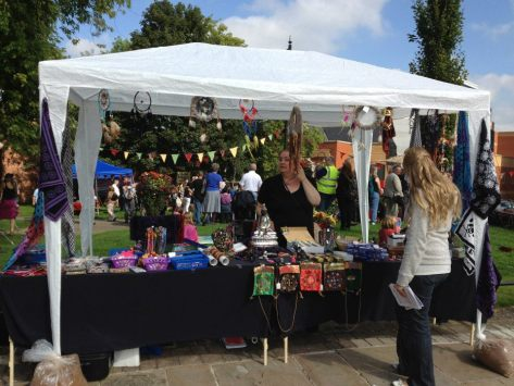 Diggers' Festival Stall