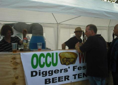 Occu Pie Wigan - Diggers' Festival Beer Tent