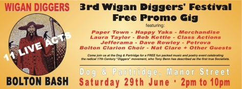 Wigan Diggers' Bolton BashPanel