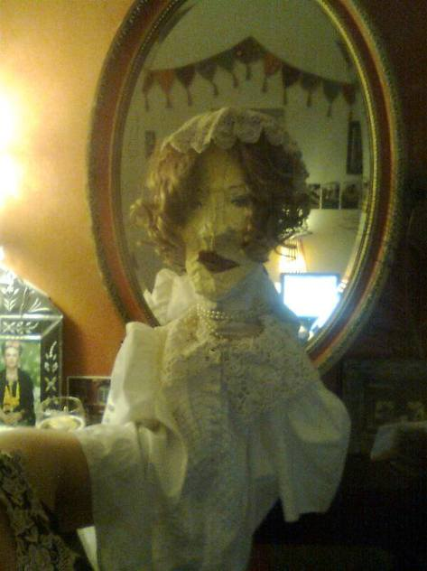 Lady Drake Puppet