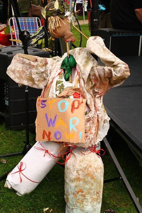 Stop War Scarecow