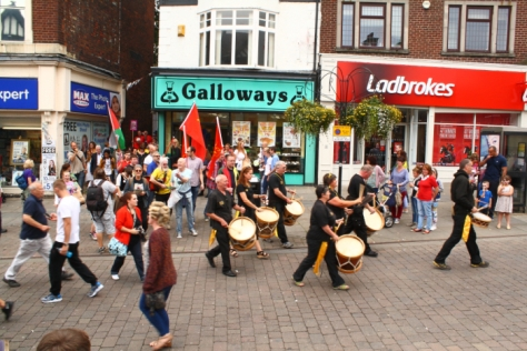 Wigan Diggers' Festival parade