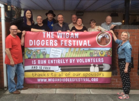 Wigan Diggers' Festival Volunteers