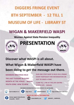 WASPI Fringe Meeting